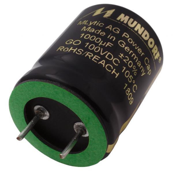Mundorf Kondensator Elko 1000uF 100V 125°C MLytic ® AG Audio Grade 853515