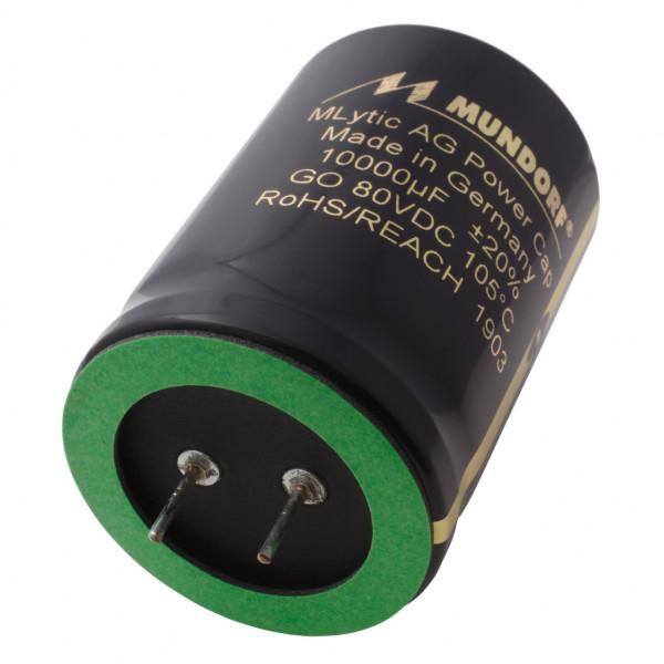Mundorf Kondensator Elko 10000uF 80V 125°C MLytic ® AG Audio Grade 853742