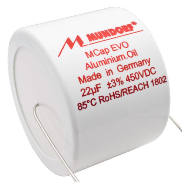 Mundorf MCap MEO EVO Oil Öl 22uF 450V High End Kondensator capacitor 853828